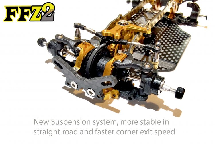 FFZV2 FWD Pro Chassis Kit (No electronic) - Click Image to Close